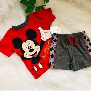 Baby boy shirt and short Disney baby